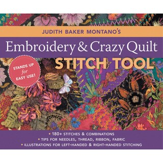 C & T Publishing 'Embroidery & Crazy Quilt Stitch Tool'