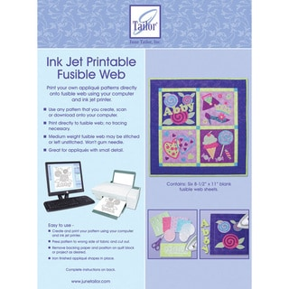 Ink Jet Printable Fusible Web (Pack of 6)