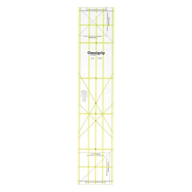 Omnigrip Non-Slip Quilter's Ruler (5 x 25 inches)
