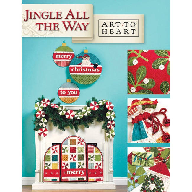 Art To Heart 'Jingle All The Way' Book