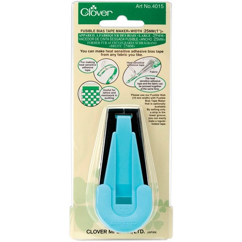 Clover Fusible Bias Tape Maker (1-inch)