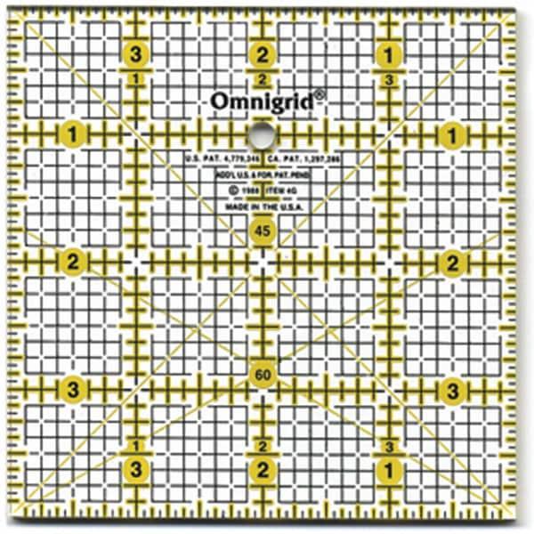 Omnigrid Quilter's Square (4 x 4)