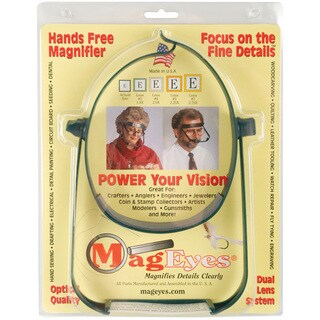 MagEyes Dark Green Magnifier #2 Single Lo
