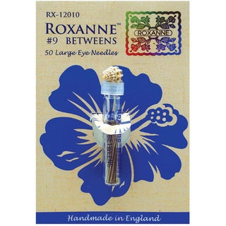 Colonial Needle Size 9 Roxanne Betweens Hand Needles (Pack of 50)