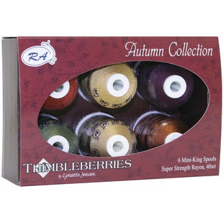 Thimbleberries Rayon Thread Collections 'Autumn' (Pack of 6)