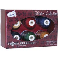 Thimbleberries Cotton Thread Collections 'Winter' (Pack of 6)