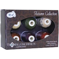Thimbleberries Cotton Thread Collections 'Autumn' (Pack of 6)