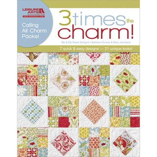Leisure Arts '3 Times the Charm!' Book