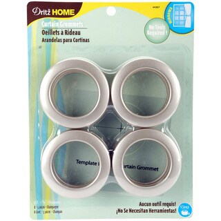 Dritz Home Champagne Curtain Grommets (Set of 8)