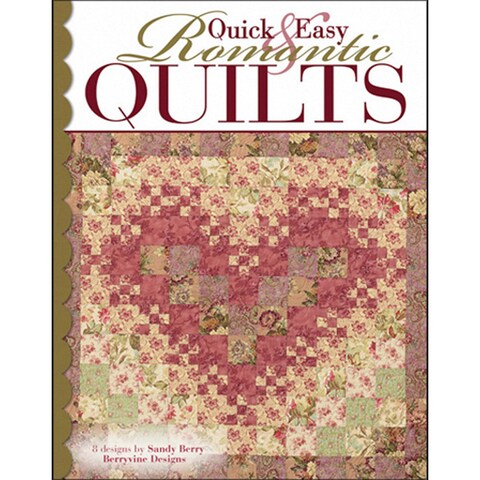 Leisure Arts 'Quick & Easy Romantic Quilts' Quilting Book