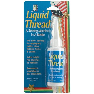 Beacon Liquid No-sew Instant Permanent Seam Repair Thread Glue