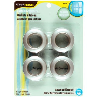 Dritz Home 1-inch Champagne Curtain Grommets (Pack of 8)