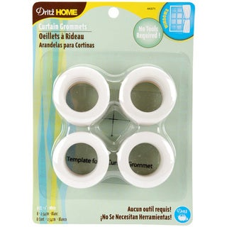 Dritz Home 1-inch White Curtain Grommets (Set of 8)