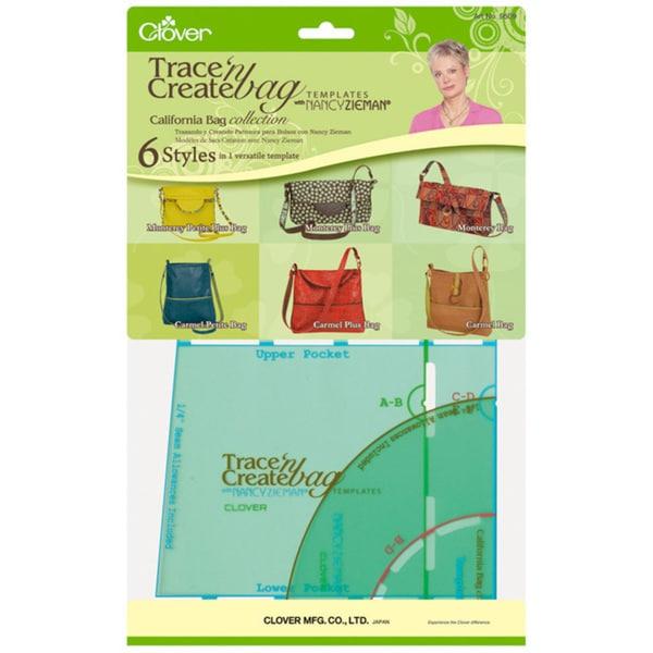Trace 'n Create Bag Templates qith Nancy Zieman 'California Bag Collection'