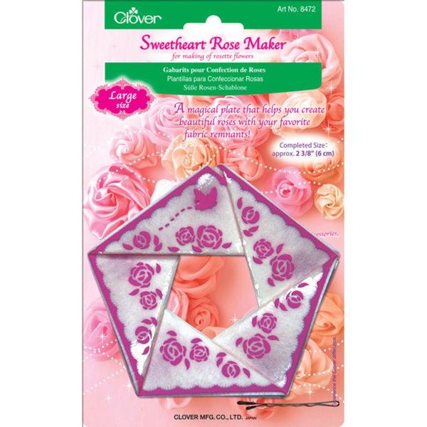 Clover Large Sweetheart Rose Maker