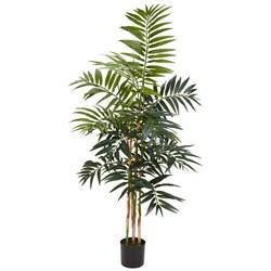 Bamboo Palm 4-foot Silk Tree