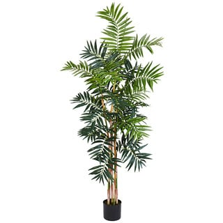Bamboo Palm 5-foot Silk Tree