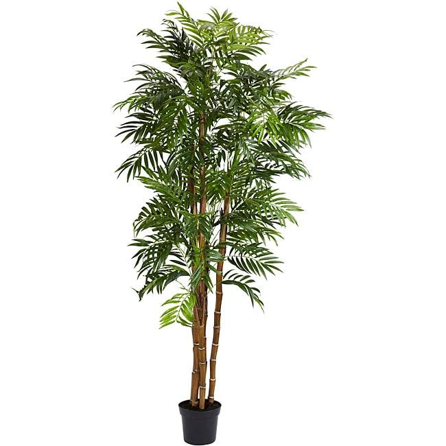 Bella Palm 6-foot Silk Tree