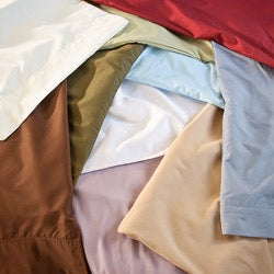 Bianca Microfiber Queen/ King-size Sheet Set