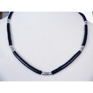 Gentleman's' Black Necklace