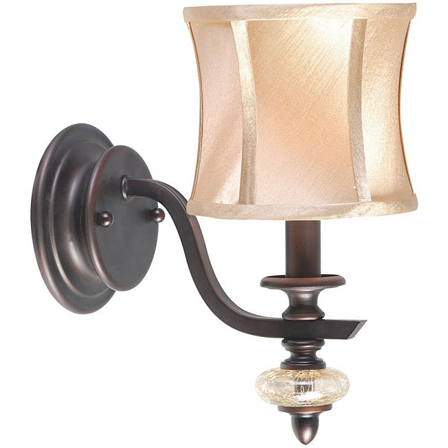 World Imports Chambord Collection Single Light Wall Sconce