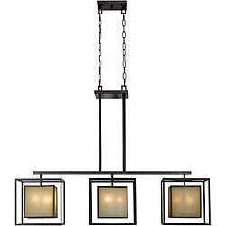 World Imports Hilden Collection 9-light Hanging Island Light