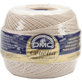 DMC Cebelia Crochet Size 20 Cotton Ecru