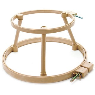 Morgan Lap Stand Combo 10-inch and 14-inch Hoops