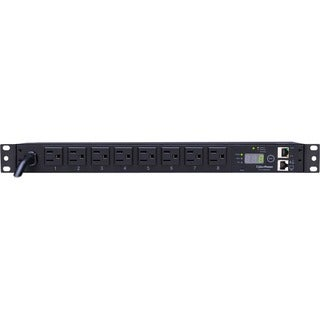 CyberPower Monitored PDU RM 1U PDU15M8FNET 15A 8-Outlet