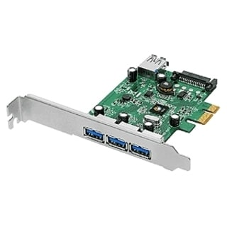 SIIG 3-port PCI Express USB Adapter