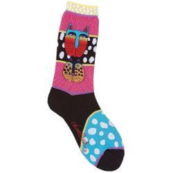 Laurel Burch Socks 'Wild Cats'