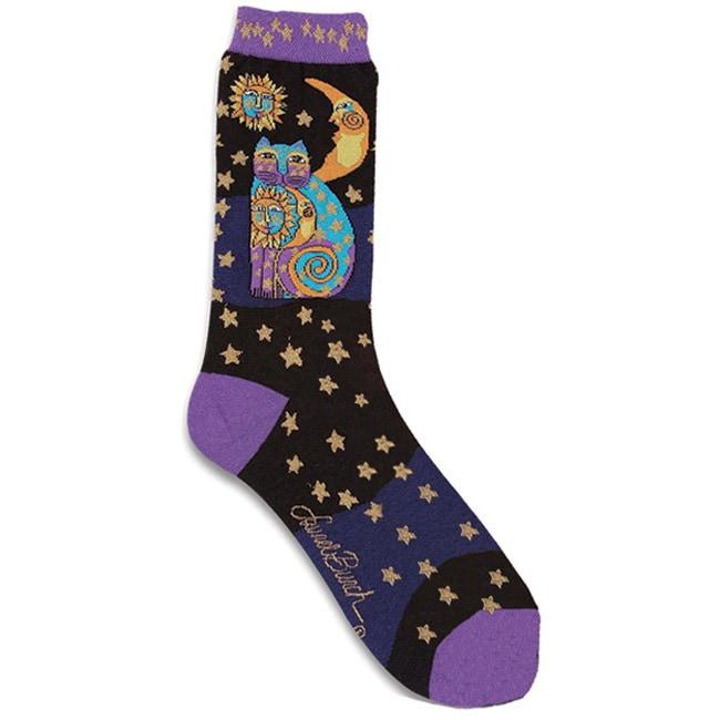 Laurel Burch Women's 'Celestial Cat' Socks