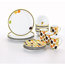 Rachael Ray Dinnerware Little Hoot 16-piece Porcelain Dinnerware Set