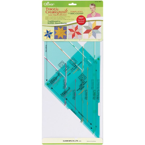 Trace 'n Create Quilt Templates With Nancy Zieman-Lone Star