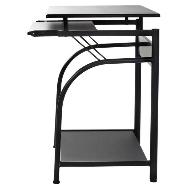 buy black computer desks online at overstock our best home office rh overstock com