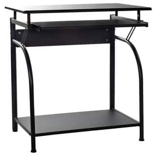 Comfort Products Stanton 50-1001 Black Computer Desk|https://ak1.ostkcdn.com/images/products/6270719/P13906700.jpg?impolicy=medium