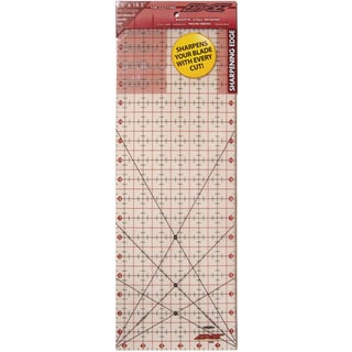 The Cutting EDGE 6.5 x 18.5-inch Frosted Ruler