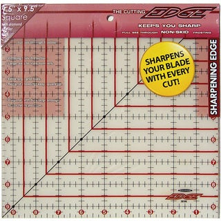 The Cutting Edge Frosted Ruler