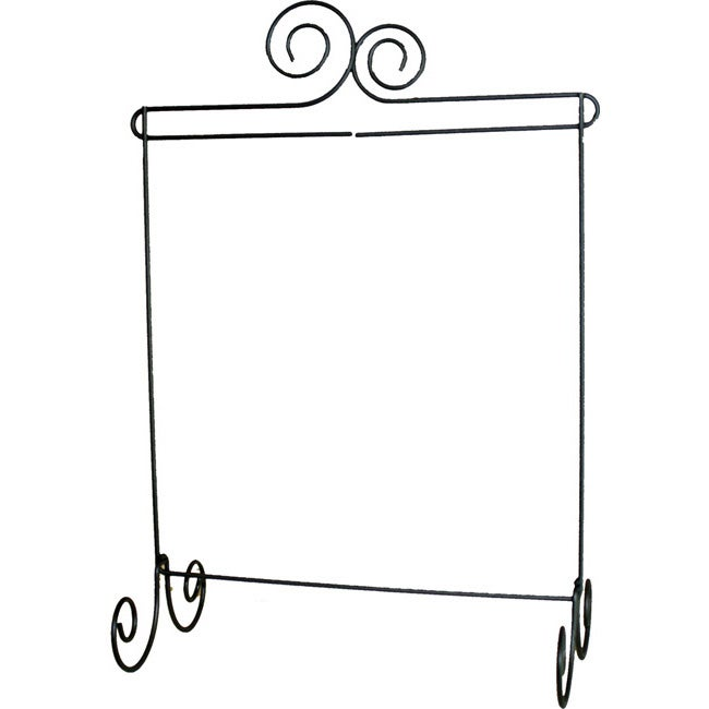 Ackfeld Table-top Double Scroll Fabric Holder