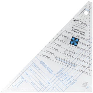 Quilt Sense Kaleidoscope Triangle Ruler