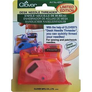 Clover Pink Desk Needle Threader