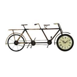 Casa Cortes Tandem Bicycle Accent Clock