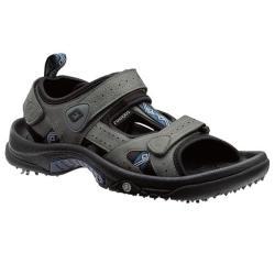 FootJoy Junior Charcoal/ Navy Golf Sandals - Thumbnail 0