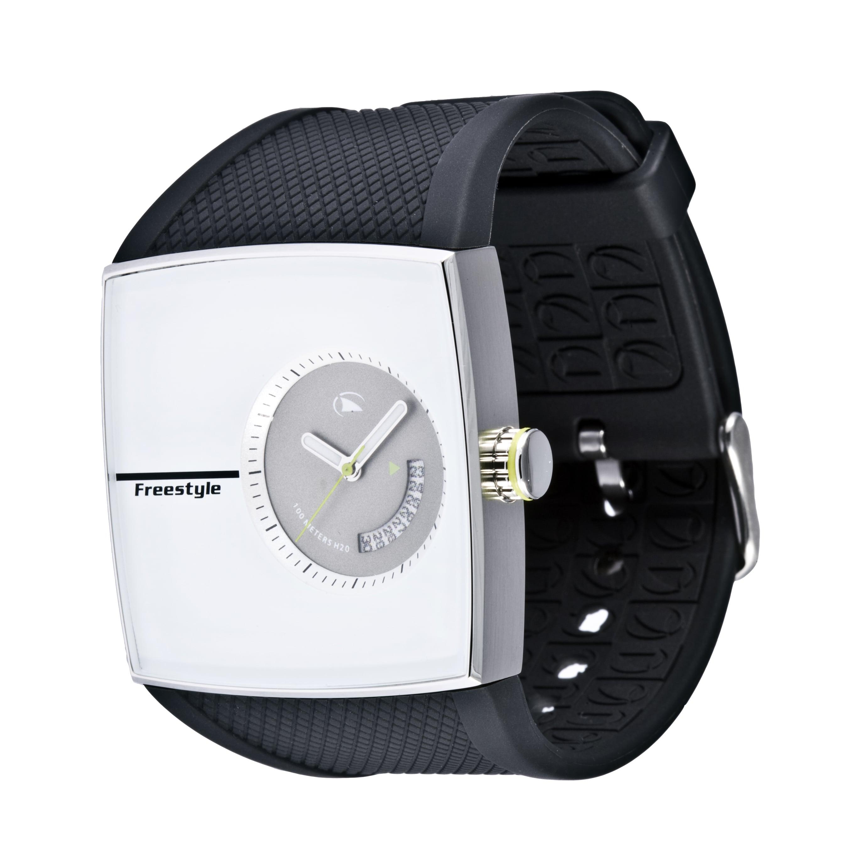 Freestyle Men's 'Karlton' Black Polyurethane Strap Watch