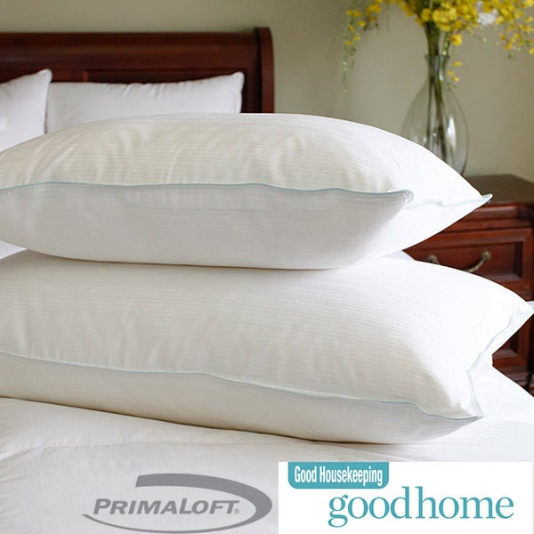 Good Housekeeping Easy Care PrimaLoft Nano-Tex Pillow