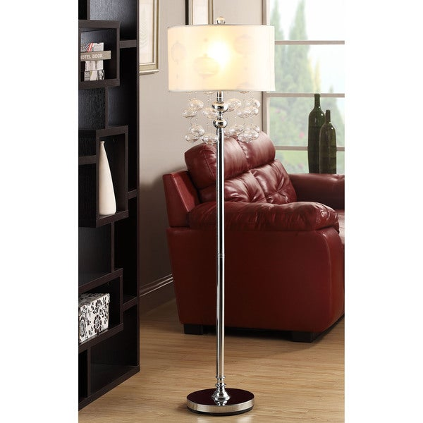 Rivera 62-inch Glass Bubble Floor Lamp