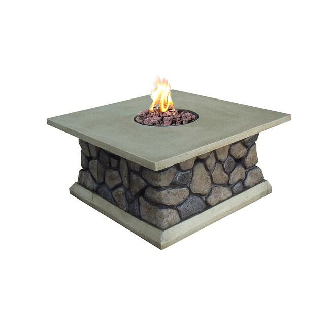 Tuscan Ridge Envirostone Outdoor Gas Fire Table