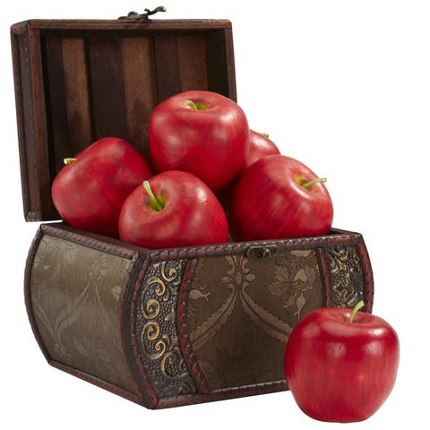 Faux Apples (Set of 6)