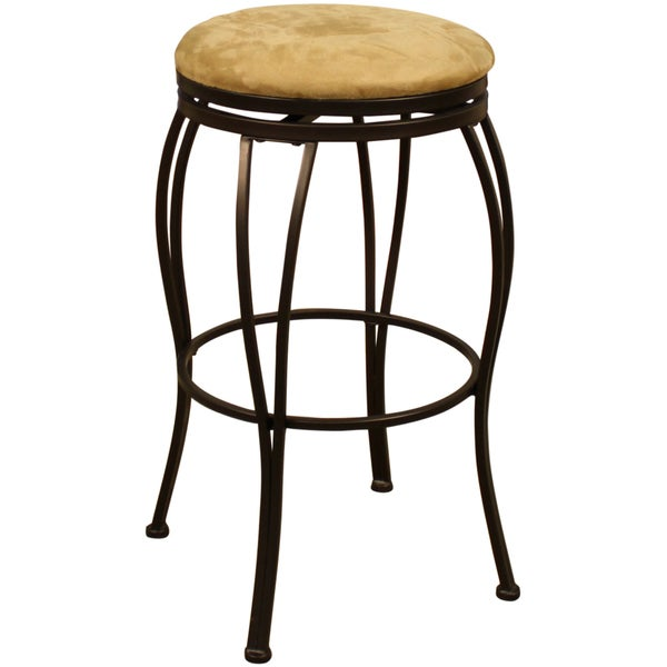 Shop Seville 24 Inch Swivel Counter Stool Free Shipping Today