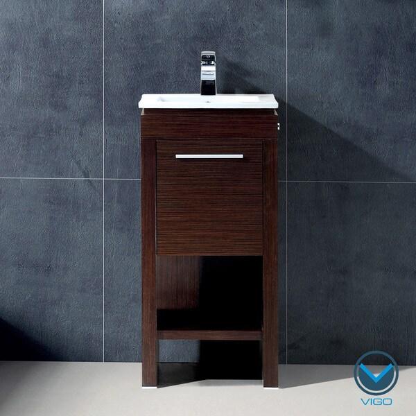 Vigo 16-inch Aristo Single Bathroom Vanity
